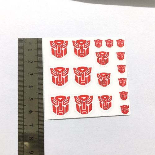 Transformer Toy Autobots/Decepticon sticker