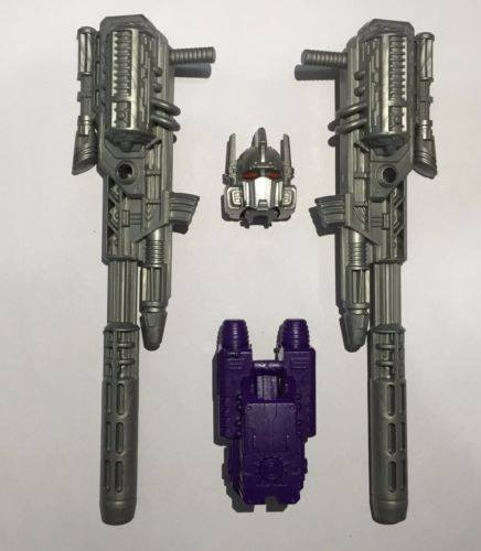 LOOSE SET PC10 Upgrade kit for Transformer Toy Combiner wars