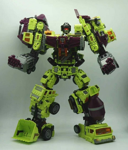 Special Price for Loose set of 6!Transformer Toys NBK Devastator Gravity Builder TF Engineering