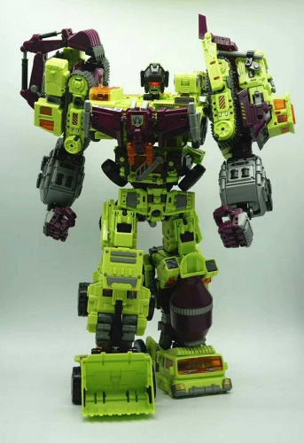 Transformer Toys NBK Devastator Gravity Builder TF Engineering Full Set of 6 BOXED