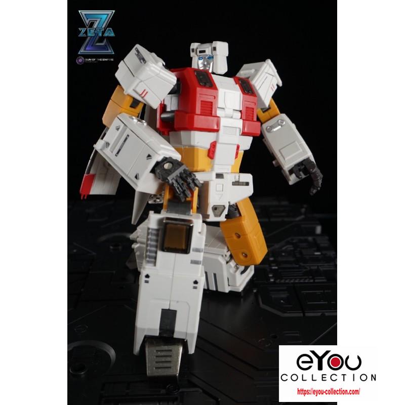 Zeta Toys ZB-03 ZB03 Silver Arrow Silverbolt Aerialbots Transformation figure