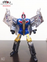 Transformer Toy GigaPower GP HQ-05R HQ05R Gaudenter Swoop Blue Chrome Version Dinobots