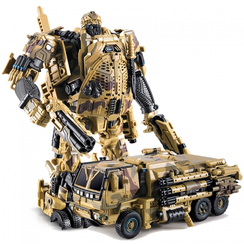 Transformer Toy WeiJiang Wei Jiang WJ M-02 M02 Robot Force Hound Oversized OS Black Apple Alloy Desert Version