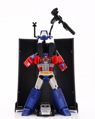 Transformer Toy Magic Square MS-B18 MSB18 Light of Justice Optimus Prime OP with Trailer