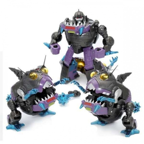 MechFansToys MFT MF-26 MF26 Sharkticons Set of 3 figures