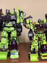 (Boxed set of 6)Transformer Toy Jinbao Oversized Devastator Gravity Builder