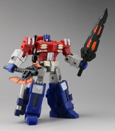 Iron Factory IE EX14 EX-14 Ultimate Commander Optimus Prime