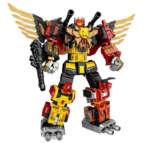 "gift-boxed 49cm/19.3"" WeiJiang Wei Jiang WJ Complete Set of 5 Sky Soarer Rampage Oversized Combination Mode POTP Feral Rex Predaking"