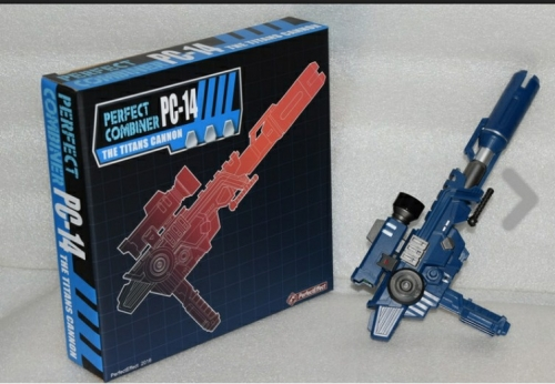 Perfect Effect PE Perfect Combiner PC-14 PC14 The Titans Cannon Upgrade Kit Add-on