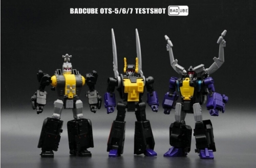 7-15days delivery!BadCube BC OTS-5/6/7 OTS-5 OTS-6 OTS-7 - Evil Bug Corps Insecticons Set of 3 Value Pack