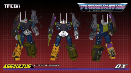 MMC Mastermind Creations Ocular Max OX Bruticus Combiner-PS14 PS-14 Incursus Onslaught​​​​​​​